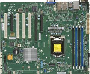Picture of Supermicro X11SSA Series Intel C236/ DDR4/ SATA3&USB3.0/ V&2GbE/ ATX