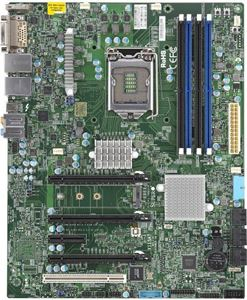 Picture of Supermicro X11SAT-F Series Intel C236/ DDR4/ SATA3&USB3.1/ A&V&2GbE/ ATX