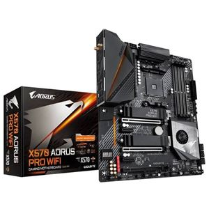 Picture of GIGABYTE X570 AORUS PRO WIFI  AM4/ AMD X570/ DDR4/ PCIE 4.0/ SATA3&USB3.2/ M.2/ A&GbE/ WIFI / BLUETOOTH/ ATX