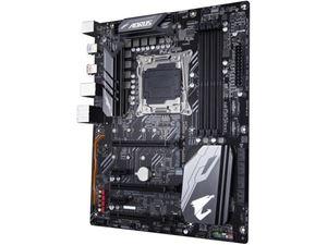 Picture of GIGABYTE X299X AORUS MASTER LGA 2066 Intel X299 SATA 6Gb/s Extended ATX Intel Motherboard