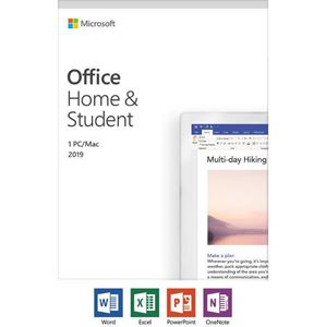 Picture of Microsoft Office Home and Student 2019 English (No Media, 1 License)