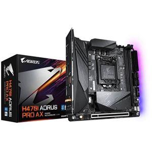 Picture of GIGABYTE H470I AORUS PRO AX Intel H470/ DDR4/ SATA3&USB3.2/ M.2/ WiFi&Bluetooth/ Mini-ITX