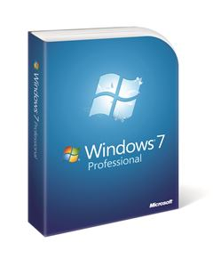 Picture of MS Windows 7 Professional SP1 64-bit