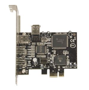 Picture of 3x Port Fire Wire 1394a PCI Card