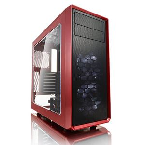 Picture of Fractal Focus G ATX Mid Tower Window Red