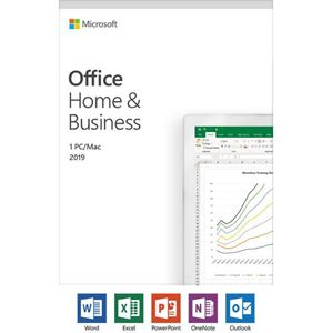 Picture of Microsoft Office Home and Business 2019 English (No Media, 1 License)