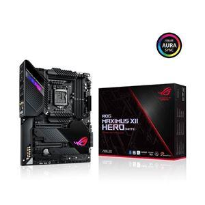Picture of Asus ROG MAXIMUS XII HERO (WI-FI) Intel Z490/ DDR4/ 3-Way CrossFireX & 2-Way SLI/ SATA3&USB3.2/ M.2/ WiFi/ Bluetooth/ ATX