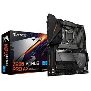Picture of GIGABYTE Z590 AORUS PRO AX Intel Z590/ DDR4/ 2-Way SLI & 2-Way CrossFire/ SATA3&USB3.2/ M.2/ WiFi/ ATX