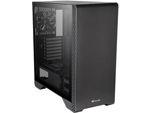 Picture of ThermalTake S300 TG Black ATX Mid Tower Case